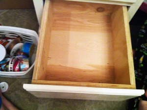 naked drawer